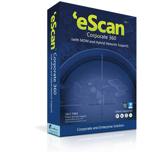 eScan Corporate 360 (with MDM & Hybrid Network Support)